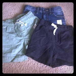 Brand new 2t shorts for boys 3 for 12.